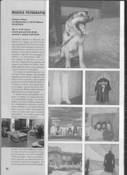 2003Fotographia Articolo